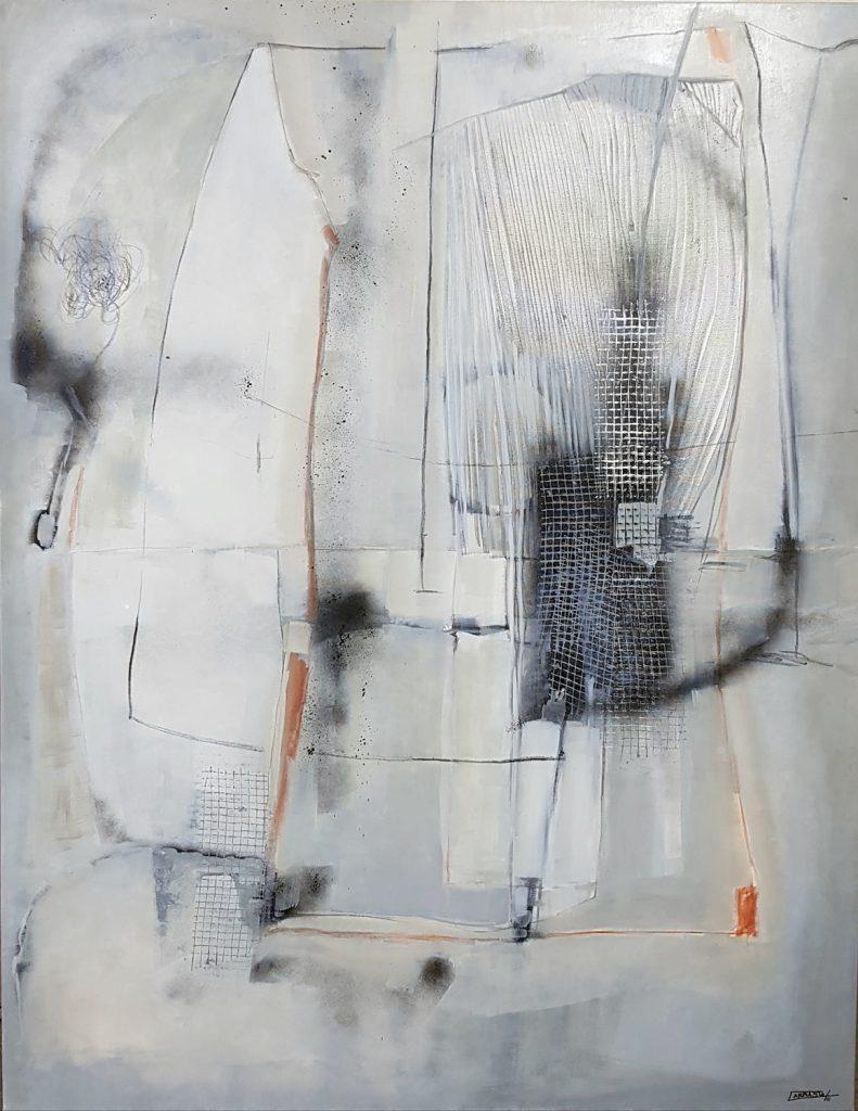 Cenizas 01 (146 x 114) Óleo sobre tela