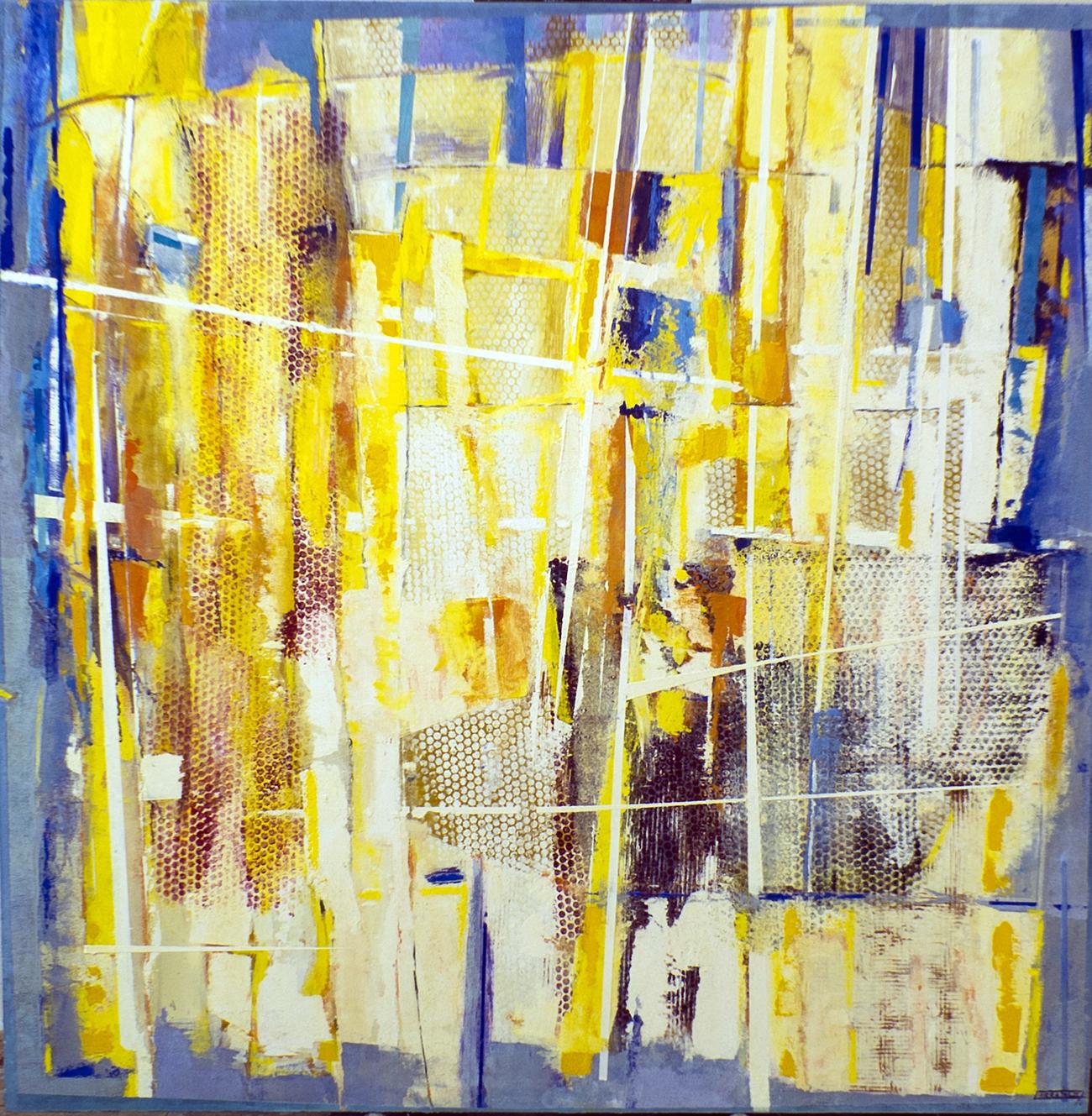 Caos 02 (150x150) Oleo-sobre-tela