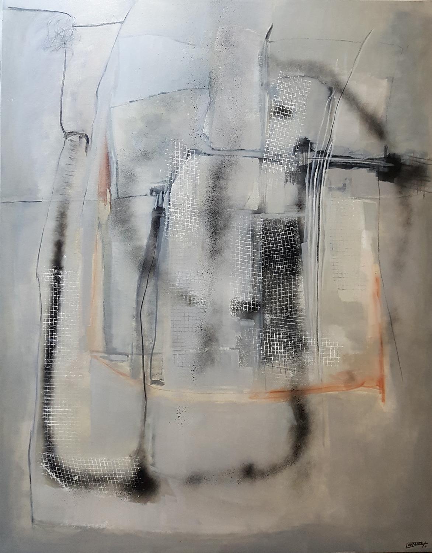 Cenizas 02 (146 x 114) Óleo sobre tela