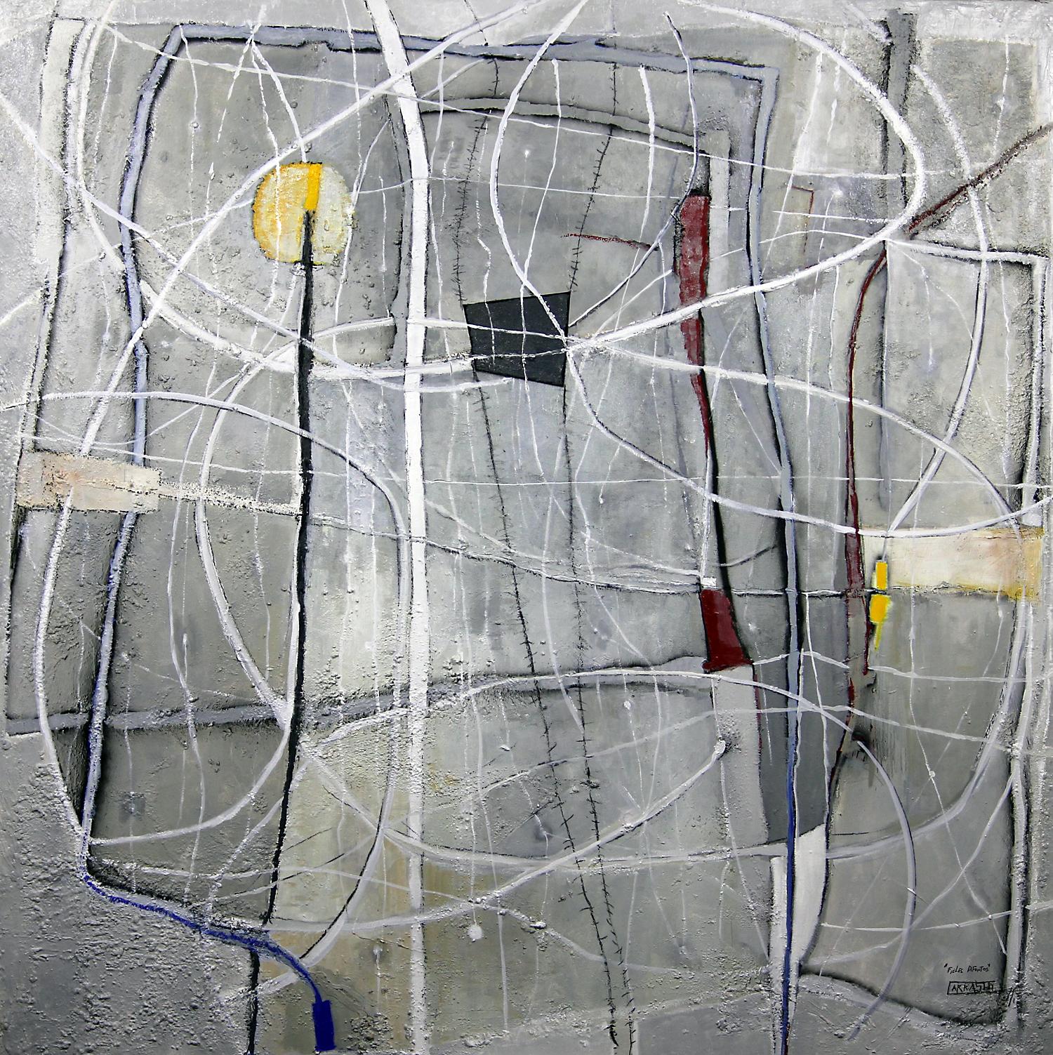 Espíritu Único (200x200) Óleo sobre tela