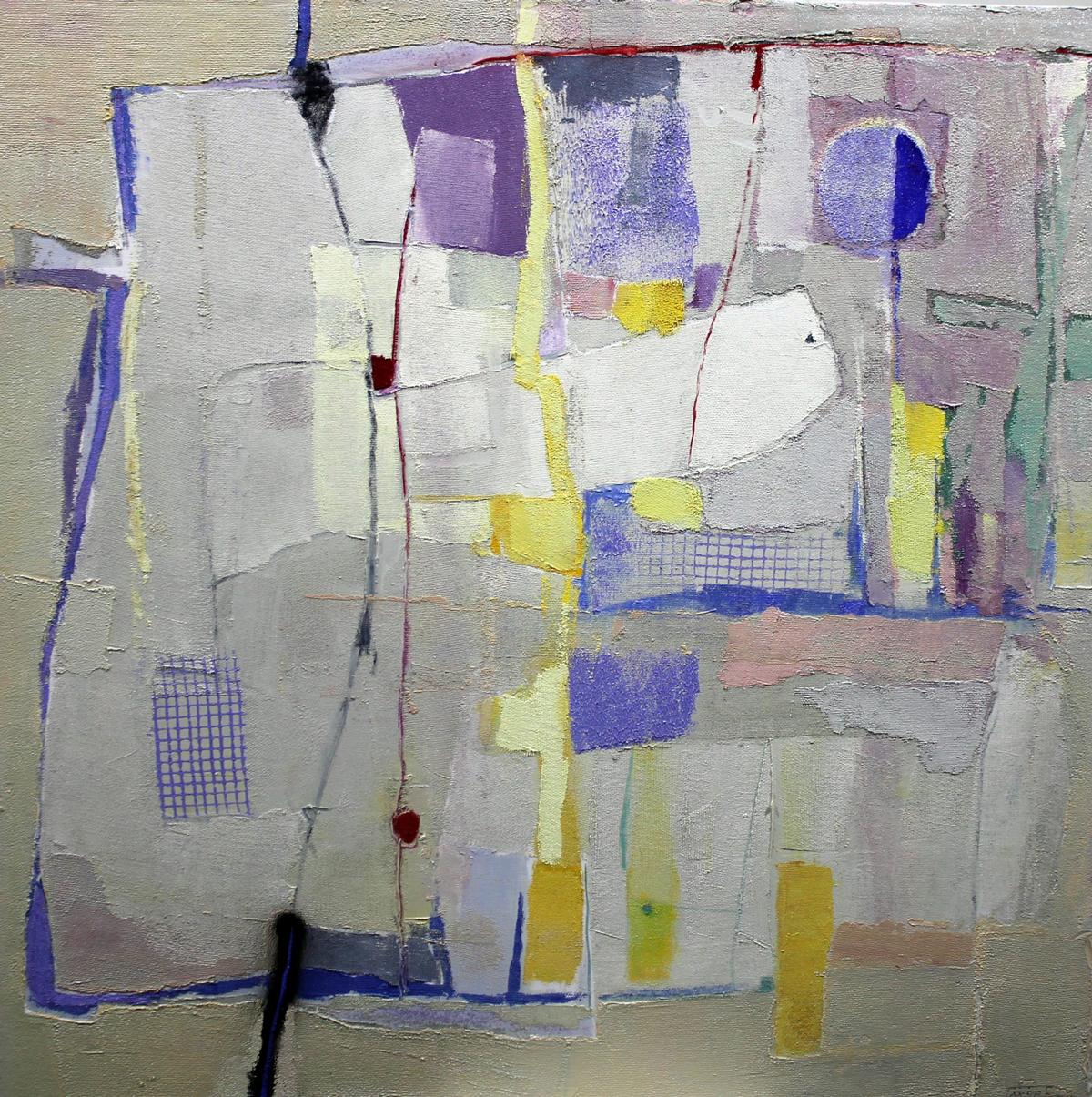 Juguetes 04 (100x100) Oleo sobre tela